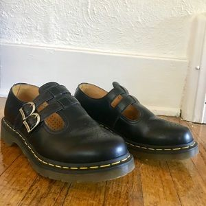 8065 Mary Jane Black Smooth Dr Martens